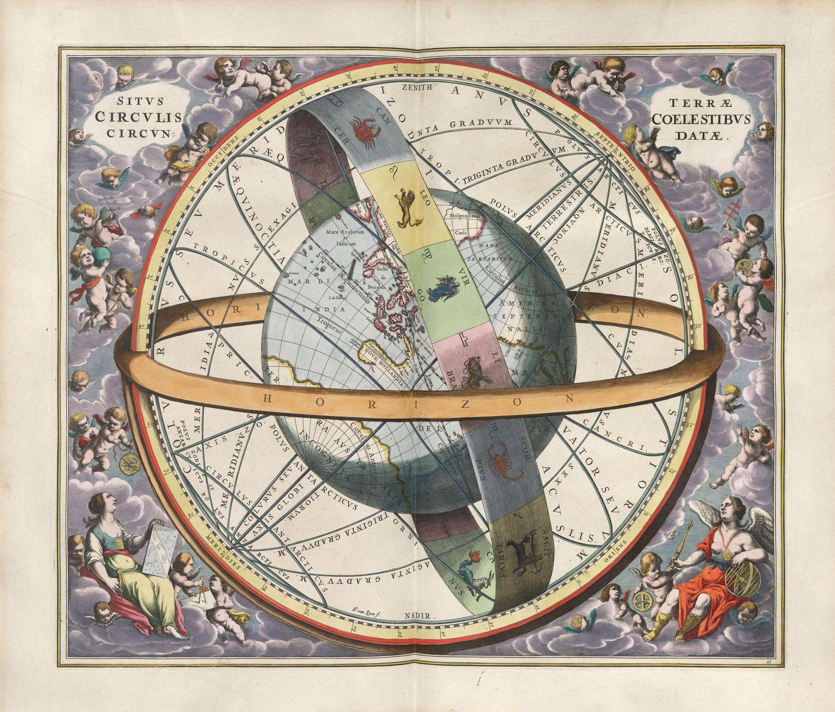 The Plates Of The Harmonia Macrocosmica Of Andreas Cellarius