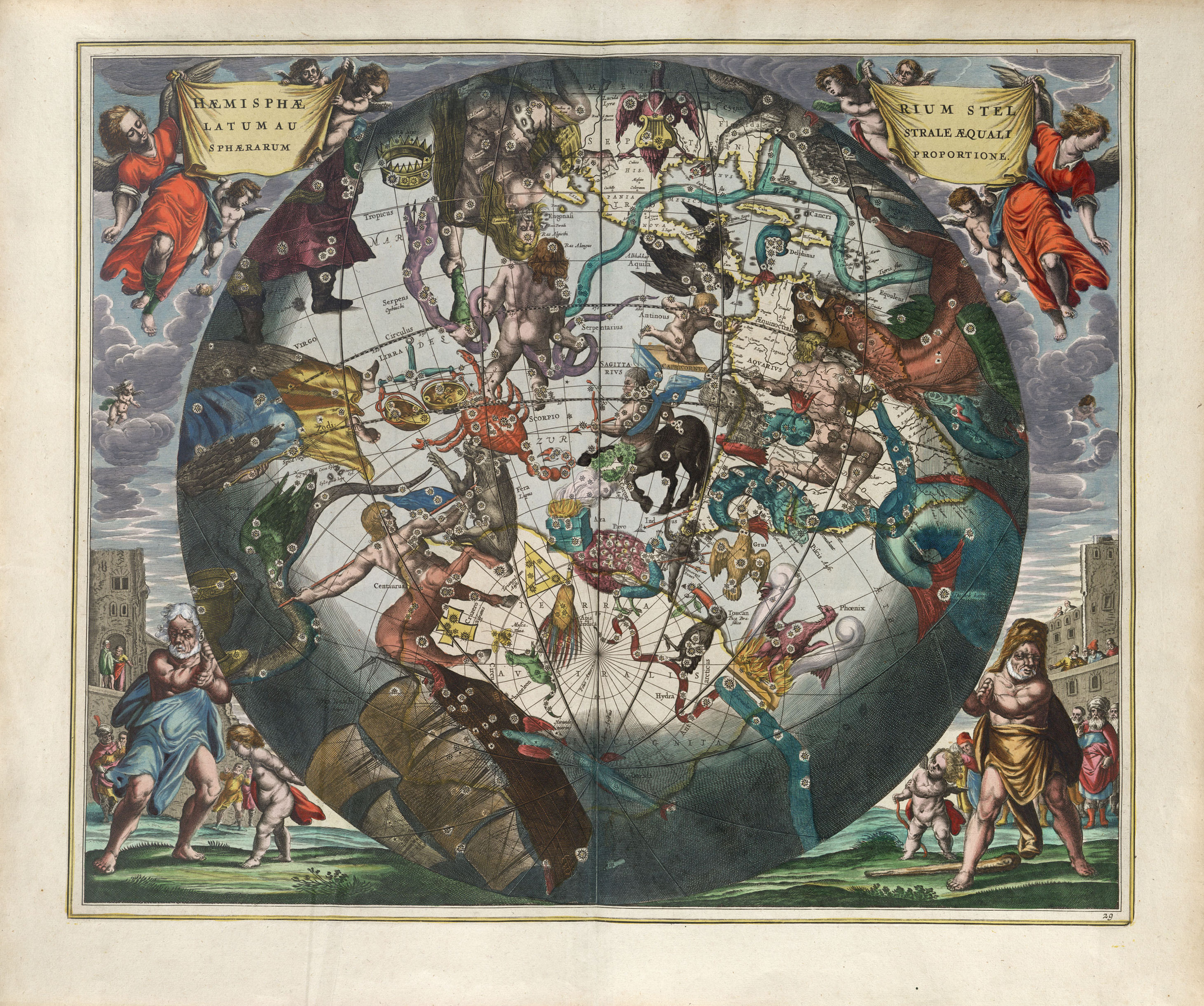 The Plates Of The Harmonia Macrocosmica Of Andreas Cellarius