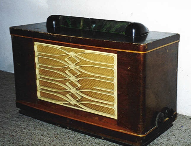 Radio 1950 Philips Philips Bx690a Around 1950