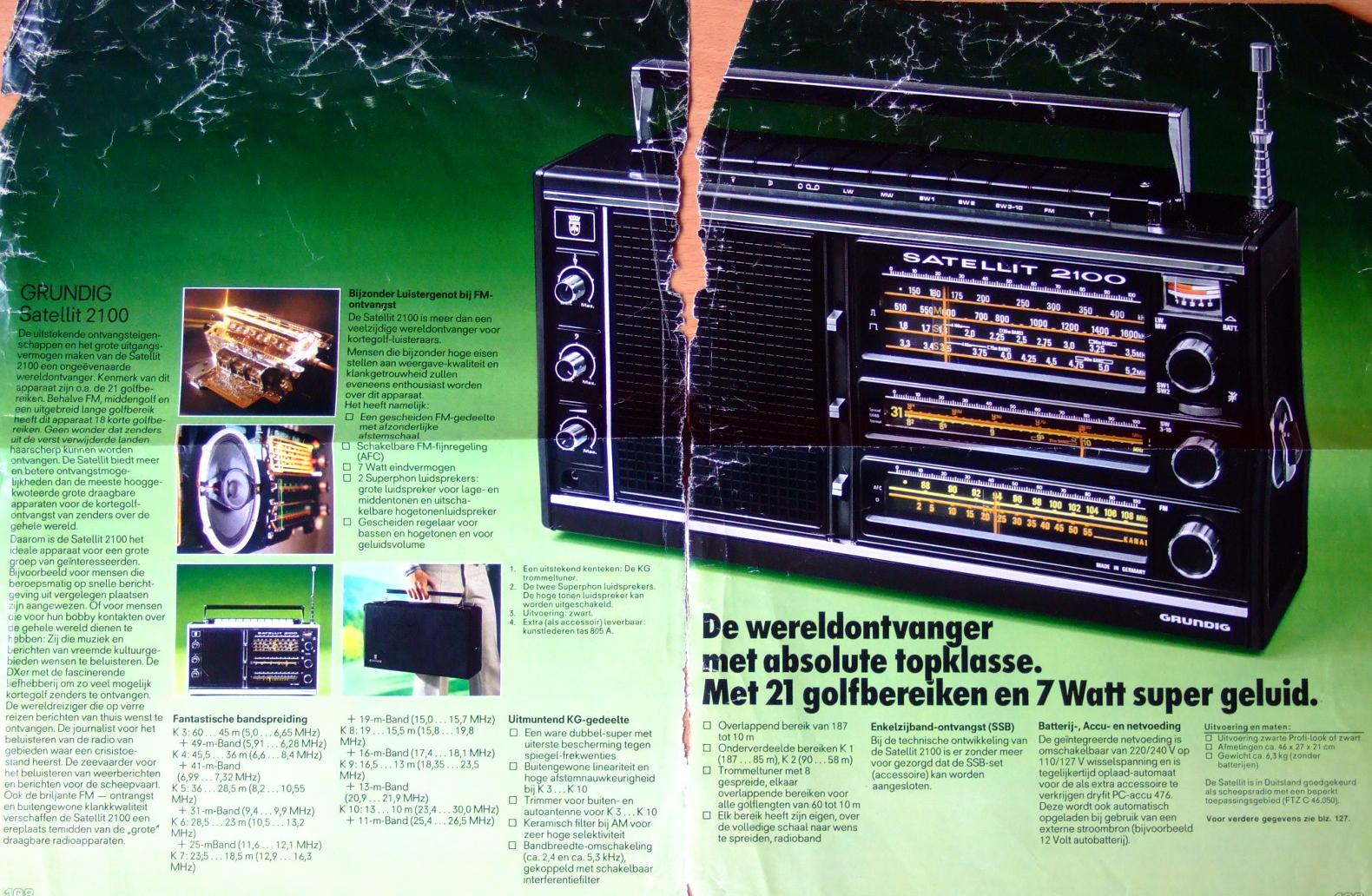 service manual grundig satellit 2000 radio