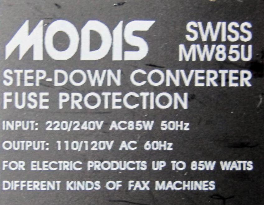 Gerard's Modis MW85U